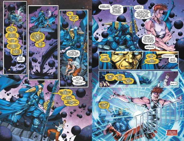 Không chỉ còn là 1 siêu anh hùng, The Flash sẽ trở thành 1 vị thần hùng mạnh - Ảnh 2.