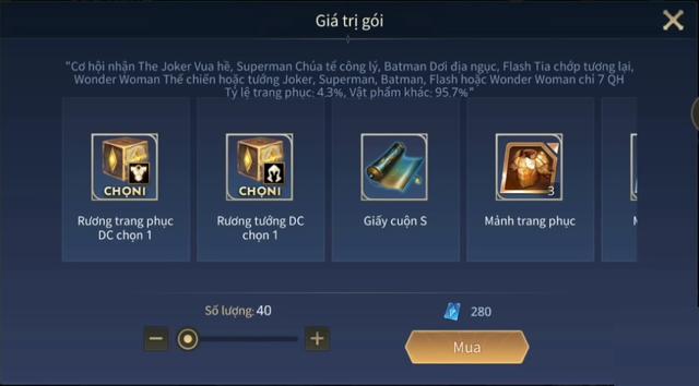 Liên Quân Mobile: Game thủ mở 49 Rương DC trúng hẳn 2 tướng giá 28.888 vàng và 2 skin bậc S - Ảnh 2.