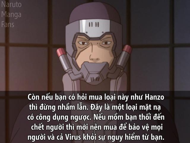 Học lỏm bí kíp ra đường an toàn giữa đại dịch corona của các nhân vật trong Naruto - Ảnh 4.