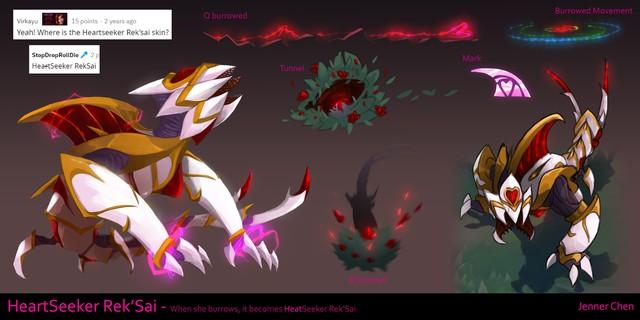 Ăn mặn hậu Valentine - Game thủ tạo ra ý tưởng về Urgot, RekSai Tình Ái, nhân viên Riot cũng ủng hộ - Ảnh 1.