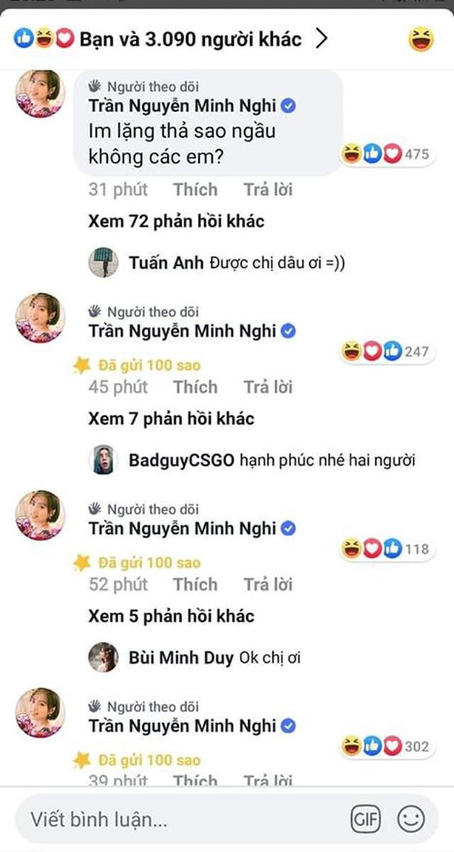 Bị dân mạng ship nhiệt tình với Bomman, MC Minh Nghi chủ động tấn công, sang tận kênh của đối tác để thả sao donate cho ngầu trong ngày Valentine - Ảnh 3.