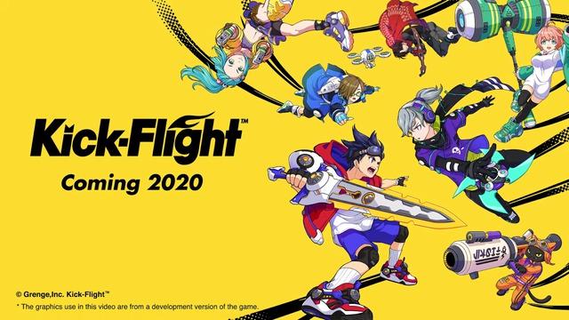Kick-Flight, tựa game đậm chất Anime với phong cách chiến đấu độc dị cực kỳ vui nhộn chính thức ra mắt. - Ảnh 1.