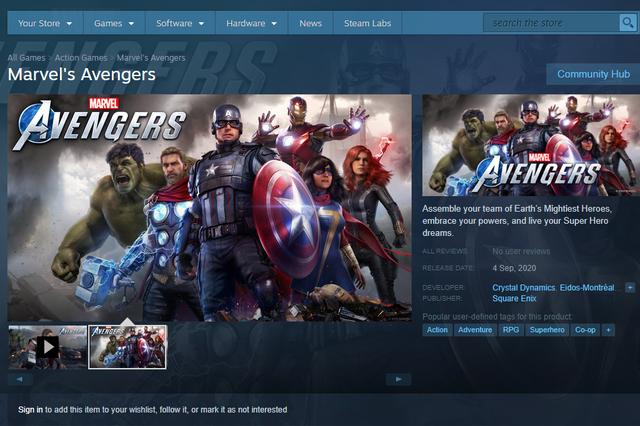 Đã có thể đặt mua trước bom tấn Marvel's Avengers trên Steam - ảnh 1