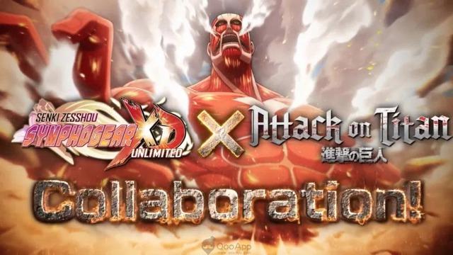 """Attack On Titan công bố dự án Crossover """"cực mạnh"""" với Symphogear XD UNLIMITED - Ảnh 4."""