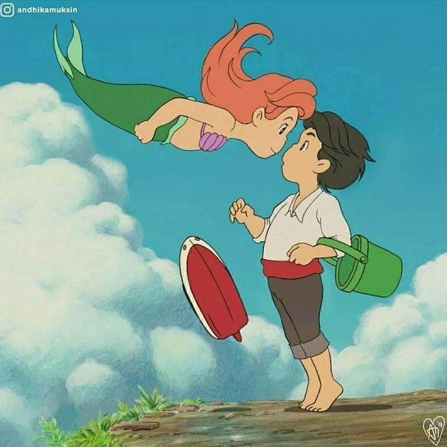 """Thế giới hòa làm một của Ghibli và Disney sẽ """"vi diệu"""" như thế nào? - Ảnh 1."""