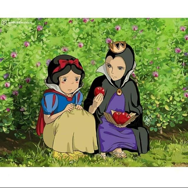 """Thế giới hòa làm một của Ghibli và Disney sẽ """"vi diệu"""" như thế nào? - Ảnh 2."""