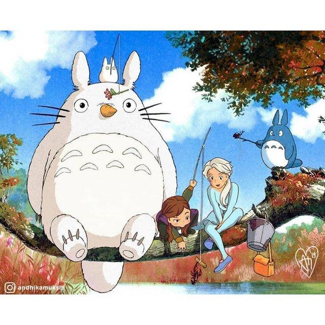 """Thế giới hòa làm một của Ghibli và Disney sẽ """"vi diệu"""" như thế nào? - Ảnh 3."""