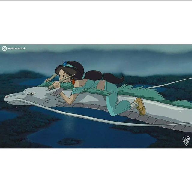 """Thế giới hòa làm một của Ghibli và Disney sẽ """"vi diệu"""" như thế nào? - Ảnh 4."""
