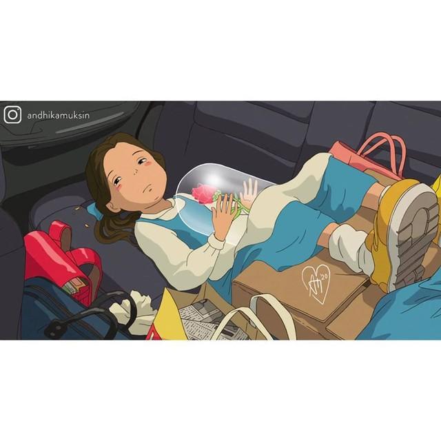 """Thế giới hòa làm một của Ghibli và Disney sẽ """"vi diệu"""" như thế nào? - Ảnh 5."""