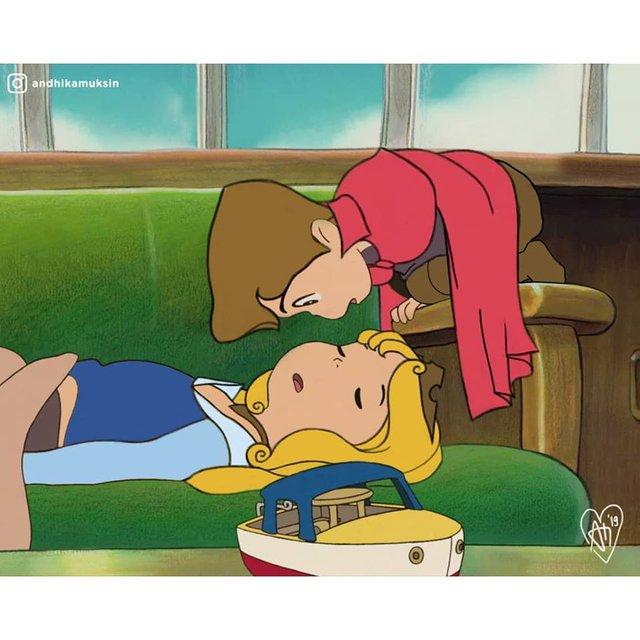 """Thế giới hòa làm một của Ghibli và Disney sẽ """"vi diệu"""" như thế nào? - Ảnh 7."""
