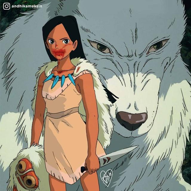 """Thế giới hòa làm một của Ghibli và Disney sẽ """"vi diệu"""" như thế nào? - Ảnh 8."""