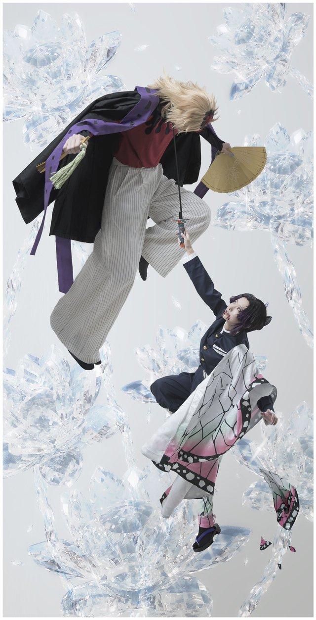 Con quỷ đa tình nhất Kimetsu no Yaiba hóa soái ca đời thực qua loạt ảnh cosplay đẹp long lanh - Ảnh 5.