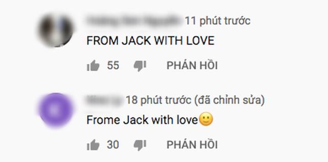Teaser MV mới của K-ICM lên top 2 trending, lượng dislike gấp 10 lần like, cộng đồng mạng thi nhau spam bình luận From Jack with love - Ảnh 3.