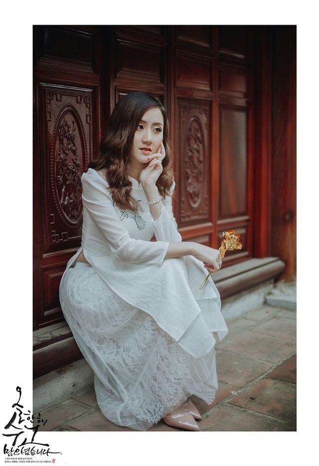 Nữ sinh ĐH Kiểm sát Hà Nội gây thương nhớ với bộ ảnh đồng phục ngành, nhìn phát yêu luôn - Ảnh 9.