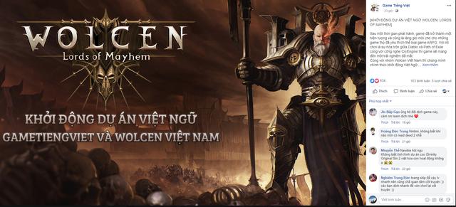 Làm mưa làm gió trên Steam, Wolcen: Lords of mayhem sắp được Việt ngữ - Ảnh 1.
