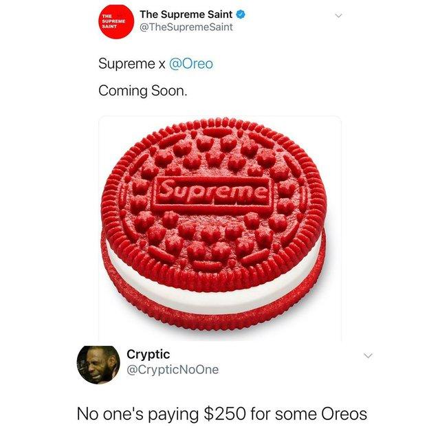 Bánh Oreo bản Supreme chính thức gia nhập đại gia đình hàng hiệu, chỉ dành cho dân chơi - Ảnh 5.