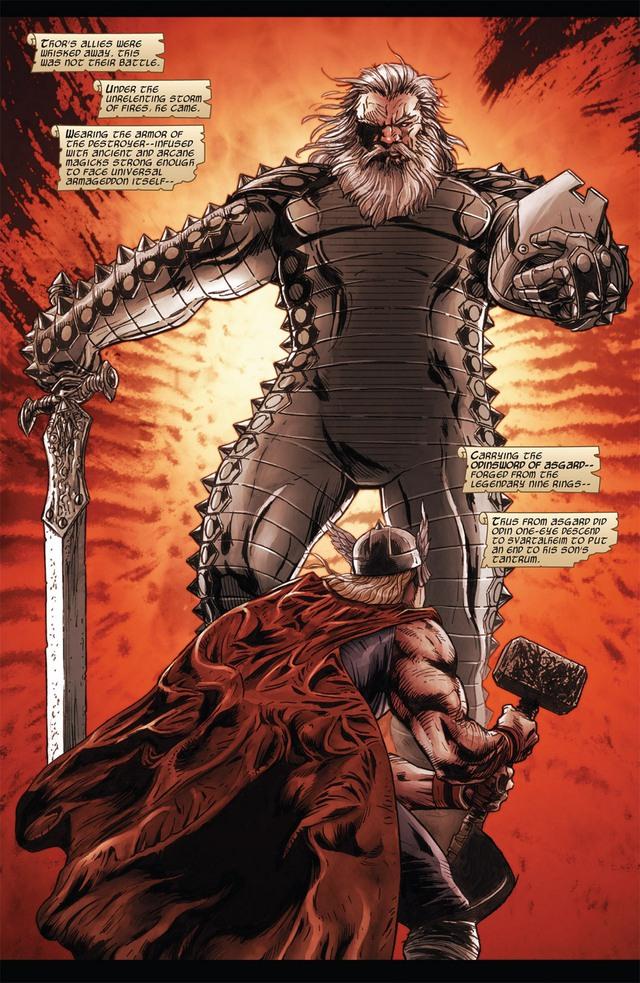Marvel Comics: Tìm hiểu về thanh thần kiếm Odinsword - 1 trong những bảo khí mạnh nhất Asgard - Ảnh 3.