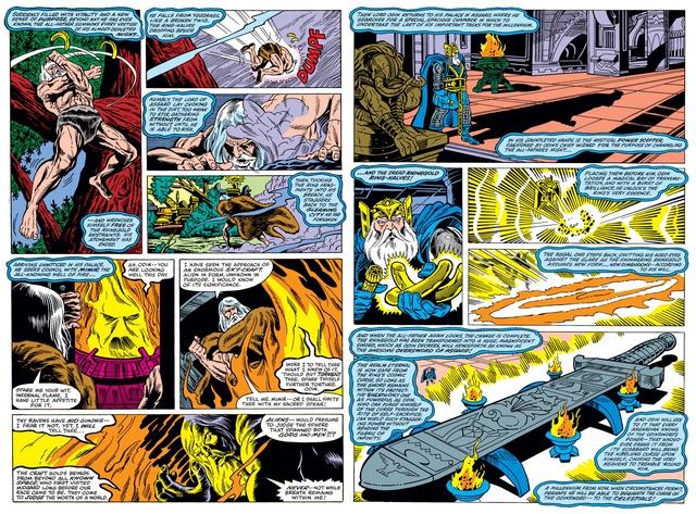 Marvel Comics: Tìm hiểu về thanh thần kiếm Odinsword - 1 trong những bảo khí mạnh nhất Asgard - Ảnh 1.