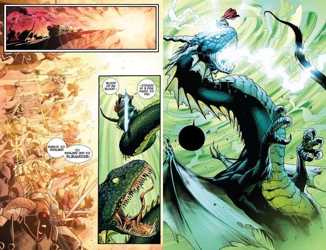 Marvel Comics: Tìm hiểu về thanh thần kiếm Odinsword - 1 trong những bảo khí mạnh nhất Asgard - Ảnh 4.