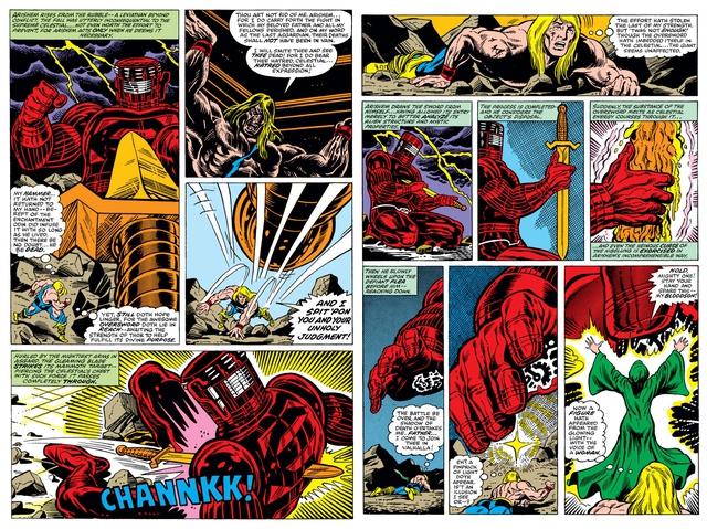 Marvel Comics: Tìm hiểu về thanh thần kiếm Odinsword - 1 trong những bảo khí mạnh nhất Asgard - Ảnh 2.