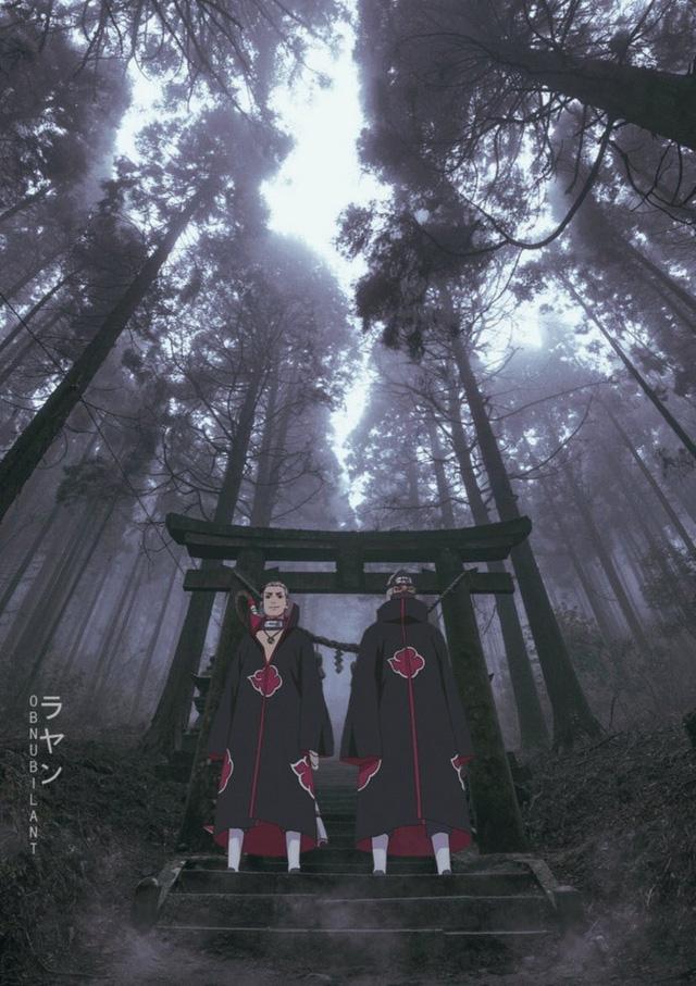Từ Goku cho tới Naruto đều chân thực một cách khó tin khi yếu tố 2D được đặt trên bối cảnh thực tế - Ảnh 13.