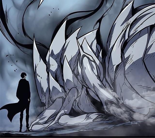 Solo Leveling chương 106: Ber thể hiện sức mạnh bá đạo của rank Tướng quân, đẳng cấp hơn tất cả lính bóng tối Jin Woo đang có - Ảnh 3.