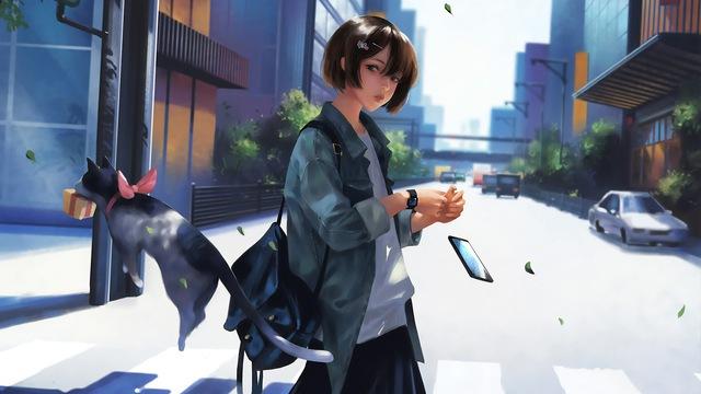 Vì ai cũng cần desktop ấn tượng, mời anh em tải về bộ sưu tập 20 hình nền phong cách anime tuyệt đẹp (P.2) - Ảnh 6.