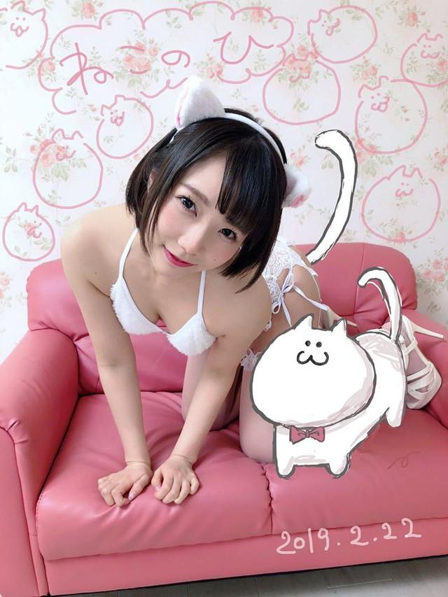 Xem loạt ảnh các mỹ nhân 18+ Nhật Bản hóa trang thành mèo - Ảnh 9.