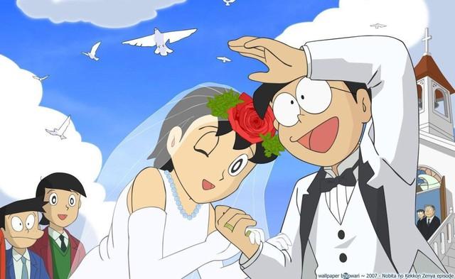 Fan đưa ra giả thuyết đầy đau lòng về cặp đôi Shizuka – Nobita của 45 năm sau chỉ qua một câu thoại trong Doraemon Plus - Ảnh 1.