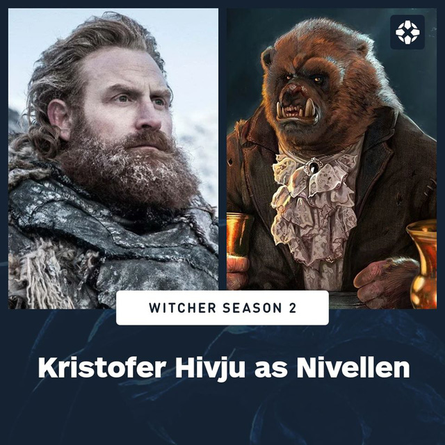 Revealing the hard new cast of blockbuster The Witcher Season 2 - Photo 1.