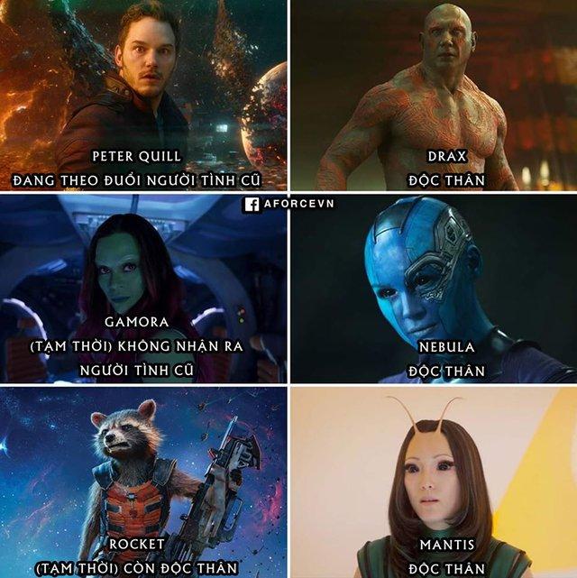 Siêu anh hùng Marvel, người hạnh phúc viên mãn, kẻ vẫn lủi thủi lẻ bóng một mình - Ảnh 2.
