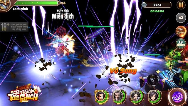 [GameK] 4 tướng di chuyển tự do, tứ hành tương khắc, hợp kích trảm địch nhân: Tam Quốc Tốc Chiến là tựa game chiến thuật KHÔNG giới hạn? - 4