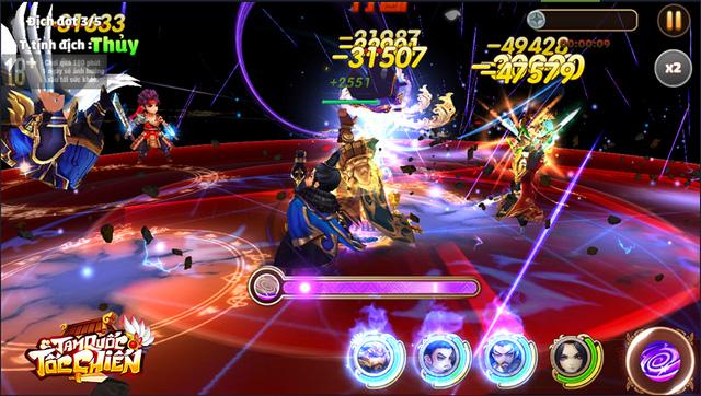[GameK] 4 tướng di chuyển tự do, tứ hành tương khắc, hợp kích trảm địch nhân: Tam Quốc Tốc Chiến là tựa game chiến thuật KHÔNG giới hạn? - 5