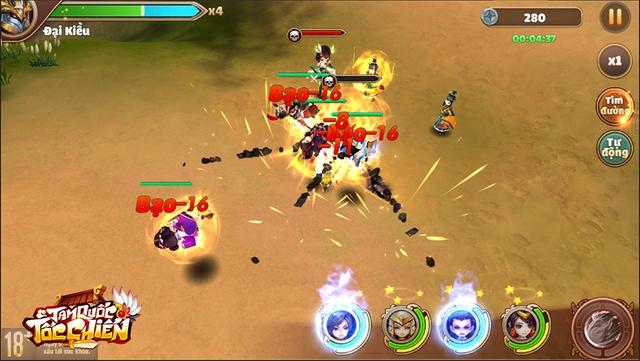 [GameK] 4 tướng di chuyển tự do, tứ hành tương khắc, hợp kích trảm địch nhân: Tam Quốc Tốc Chiến là tựa game chiến thuật KHÔNG giới hạn? - 6