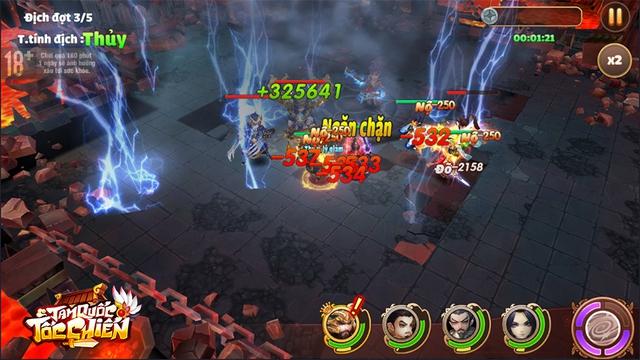 [GameK] 4 tướng di chuyển tự do, tứ hành tương khắc, hợp kích trảm địch nhân: Tam Quốc Tốc Chiến là tựa game chiến thuật KHÔNG giới hạn? - 7