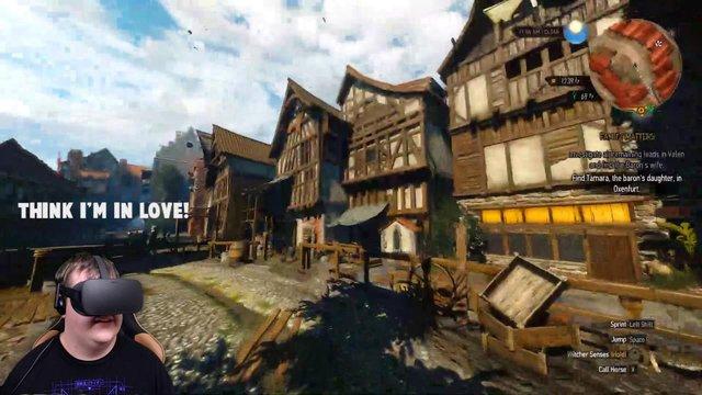 Phấn khích với The Witcher phiên bản thực tế ảo cực đỉnh - Ảnh 1.