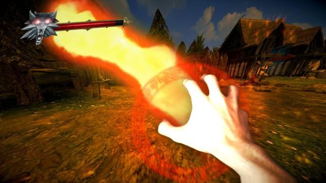 Phấn khích với The Witcher phiên bản thực tế ảo cực đỉnh - Ảnh 4.