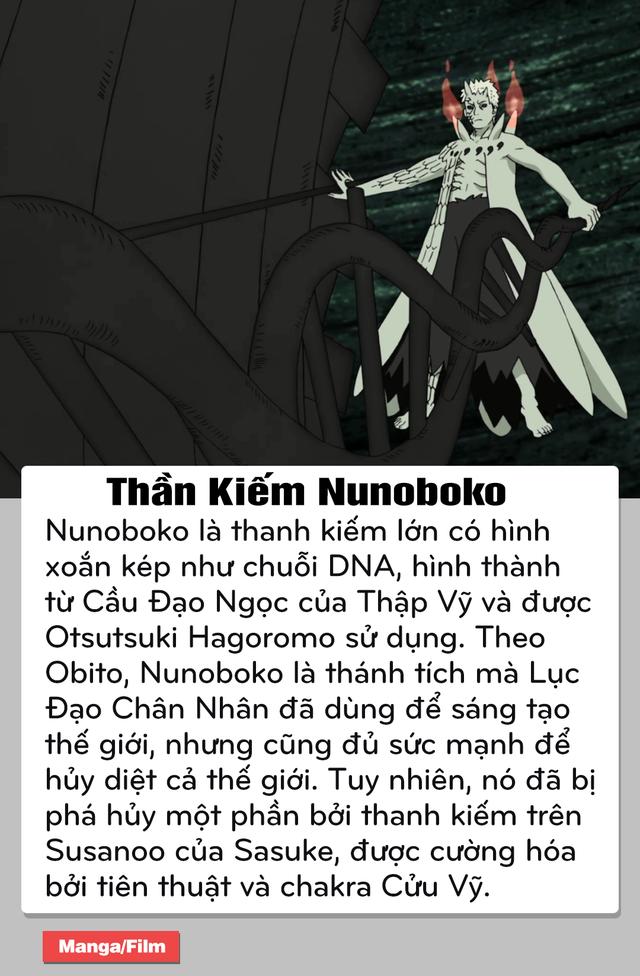 Naruto: Top 6 thần khí siêu mạnh của Lục Đạo Tiên Nhân, người khai sinh ra thế giới nhẫn giả - Ảnh 6.