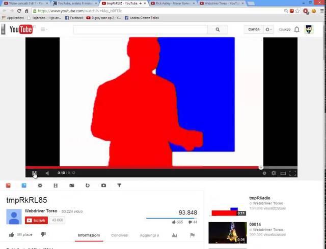 Video hiếm hoi không có khối màu mà thay bằng bóng chiếu