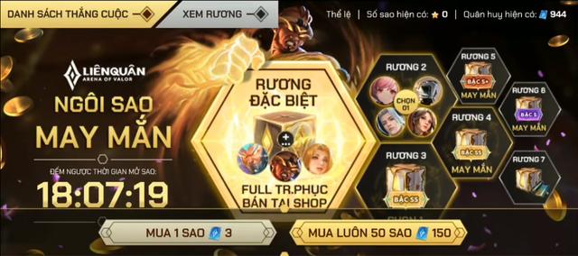 Liên Quân Mobile: Garena treo thưởng Rương chứa 163 skin, game thủ than không đến lượt mình - Ảnh 1.