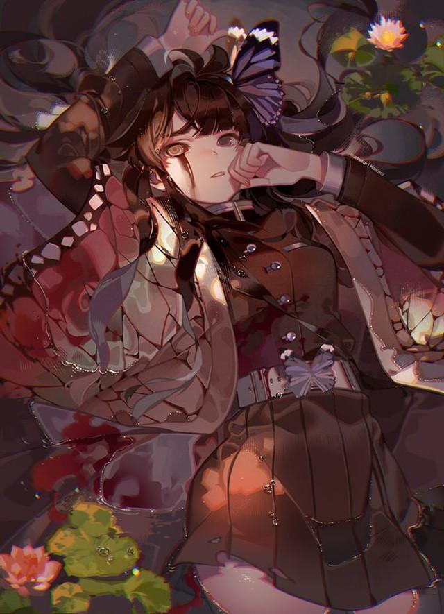Lặng người khi ngắm bộ ảnh fan art Kimetsu no Yaiba khiến người xem yêu luôn từ cái nhìn đầu tiên - Ảnh 5.