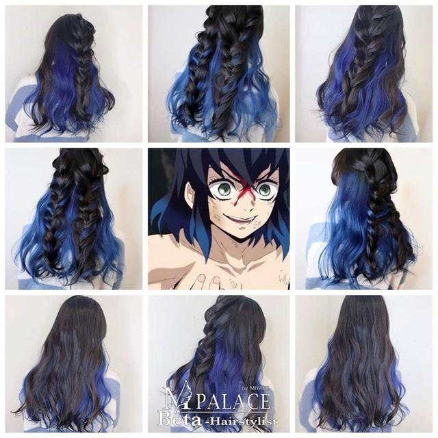 Ngắm loạt cảnh cosplay màu tóc 7 sắc cầu vồng của các nhân vật Kimetsu no Yaiba mà mê - Ảnh 8.