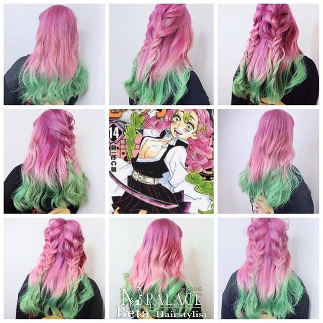 Ngắm loạt cảnh cosplay màu tóc 7 sắc cầu vồng của các nhân vật Kimetsu no Yaiba mà mê - Ảnh 15.