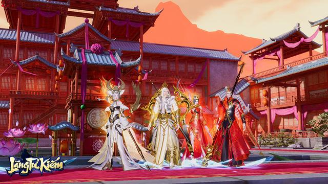 Đột phá giới hạn siêu phẩm đồ họa với MMORPG triệu đô ra mắt đầu năm 2020 - Lãng Tử Kiếm 3D - 8