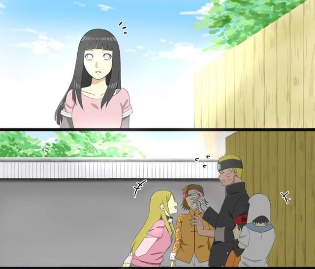 Naruto chủ động tấn công Hinata qua mẩu truyện ngắn lãng mạn của fan - Ảnh 1.