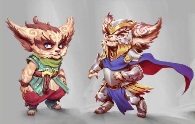 Hé lộ ba vị tướng mới sắp ra mắt LMHT: Vua Vô Danh, bộ đôi Vastaya - Yordle, anh trai của Yasuo bị Darkin nhập thể - Ảnh 1.