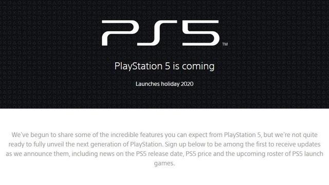 Sony công bố website chính thức của PS5, thời điểm ra mắt chỉ đếm từng ngày - Ảnh 2.