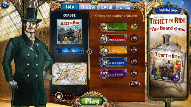 Back to childhood with the best board game - Ticket to Ride, 100% free - Photo 2.