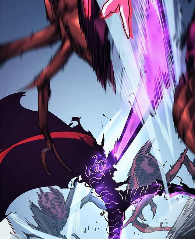 Solo Leveling chương 104: Sung Jin Woo đánh bại Kiến Vương, tính mạng của Cha Hae In bị đe dọa - Ảnh 1.