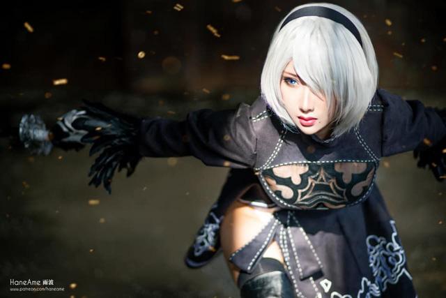 Mướt mắt khi ngắm bộ ảnh cosplay hở bạo về cô nàng 2B trong Nier: Automata - Ảnh 12.